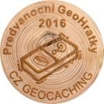 Předvánoční GeoHrátky 2016