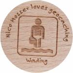 Nico Mozzer loves geocaching - Wading