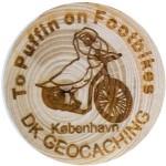 To Puffin on Footbikes Kobenhavn