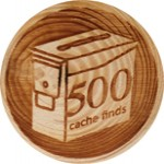 500 cache finds
