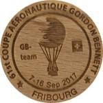 61st coupe aéronautique Gordon Bennet Fribourg
