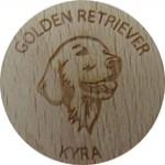 Golden retriever Kyra