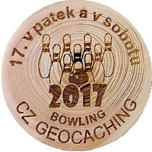 17. v pátek a v sobotu bowling