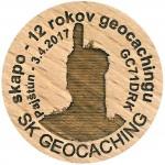 skapo - 12 rokov geocachingu