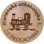 Blanenská úzkokolejka 1.