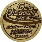 GeoDiscgolf liga 2017 - 2.kolo