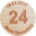 24 Hours Geocaching 16-04-2017