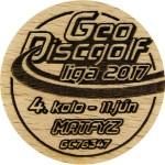 GeoDiscgolf liga 2017 - 4.kolo