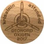 Krisalnin attended Geonord Oxigen 2017