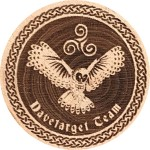 Davetarget Team - Owl (reverse)