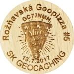 Rožňavská Geopizza #5