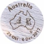 Australia 25 Okt - 6 Dec 2017