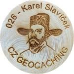 026 - Karel Slavíček