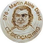076 - Martin Alois David