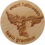 Event halloween team gremlins