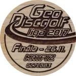GeoDiscgolf liga 2017 - Finale
