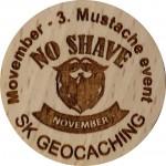 Movember - 3. Mustache event