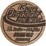 GeoDiscGolf liga 2017 - 5.kolo