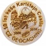 10 let keše Karlštejn Castle