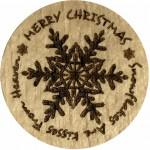 Merry Christmas - Snowflakes