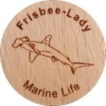 Frisbee-lady