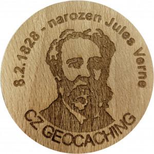 8.2.1828 - narozen Jules Verne