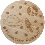 Planetary pursuit(Geocaching woodies)