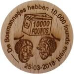 De Bosmannetjes hebben 10.000 founds event