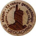 skapo - 13 rokov geocachingu