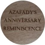 AZAFADY'S ANNIVERSARY REMINISCENCE
