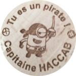 Tu es un pirate! Capitaine HACCAB