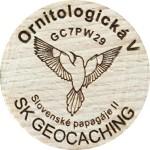 Ornitologická V