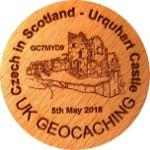 Czech in Scotland - Urquhart Castle