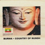 BURMA · COUNTRY OF BUDDH
