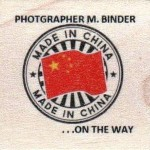 PHOTGRAPHER M. BINDER  . . .ON THE WAY