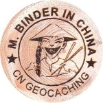 M. BINDER IN CHINA