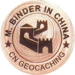 M. BINDER IN CHINA