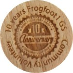 10 years Frogfoot1 GS Community Volunteer