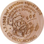 1.7.1908 zavedeno SOS