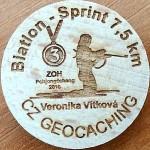 Biatlon - Sprint 7,5 km