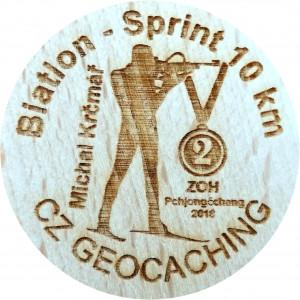 Biatlon - Sprint 10 km