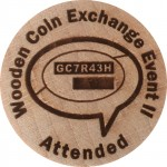 Wooden Coin Exchange Event II