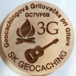Geocachingová Grilovačka pri Gitare
