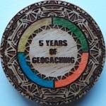 5 YEARS OF GEOCACHING