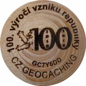 100. výročí vzniku republiky