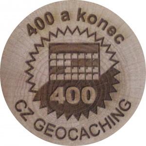 400 a konec
