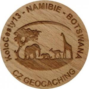 KoloCesty13 - NAMIBIE - BOTSWANA