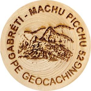 GABRÉTI - MACHU PICCHU 52