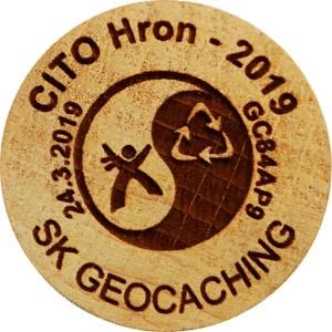 CITO Hron - 2019