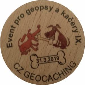 Event pro geopsy a kačery IX.